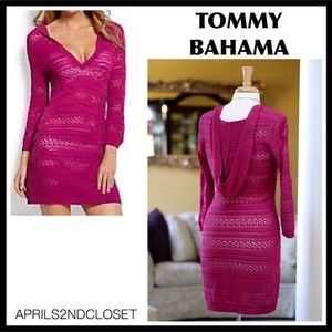 TOMMY BAHAMA HOODIE TUNIC COVERUP A3C
